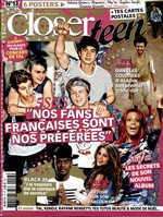 Closer teen couverture decembre 2014 janvier 2015