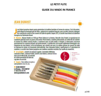 LE PETIT FUTE Guide du made in France - Jean Dubost